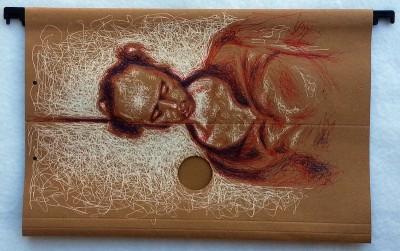 Desenho do Vladimir Herzog enforcado