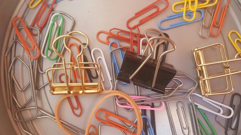 cliples representando anexos