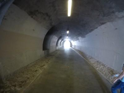 Foto de túnel ao lado do Sena