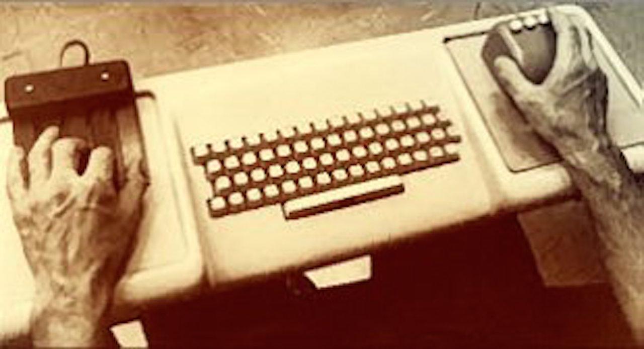 Foto do mouse de Engelbart