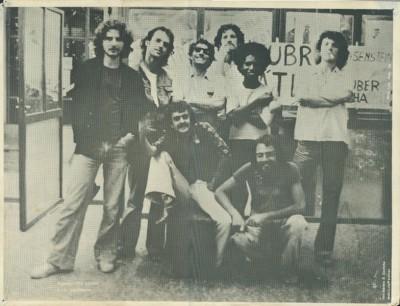 Alunos da ECA em 1977