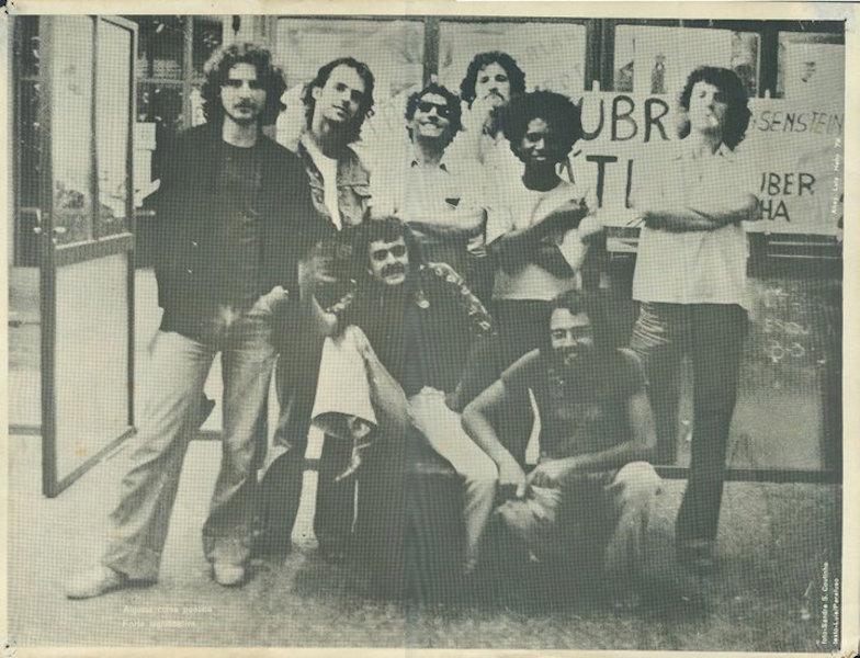 Garotos da ECA, 1977. Foto Sandra Coutinho