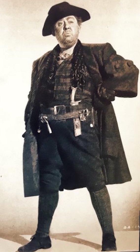 Capitão Kid em pose arrogante