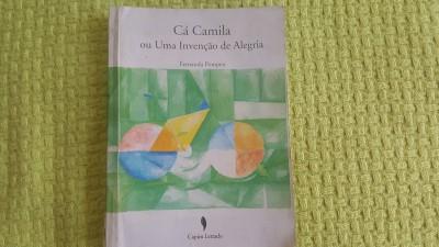capa do romance Cá Camila