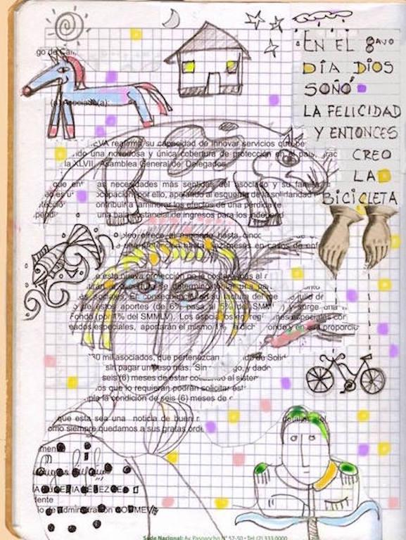 Dibujos: Gloria Rendón